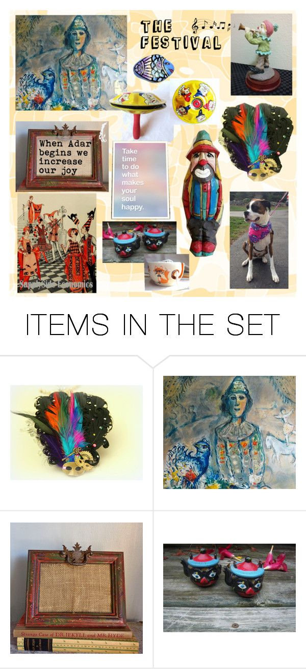 Festival Month by owlartshop on Polyvore featuring art, purim, TintegrityT and EtsySpecialT
