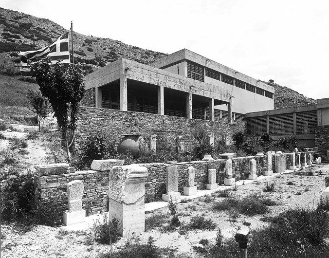 Αρχαιολογικό μουσείο Φιλίππων - Φατούρος, Τριανταφυλλίδης (1964) © Δημητρής Καλαποδάς