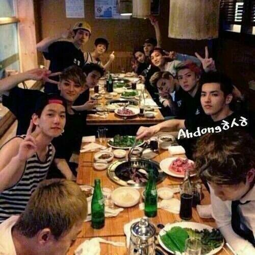 EXO's last together as ot12