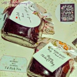 Mother's Day Themed Jars - read our full post on how we customise your order every step of the way!