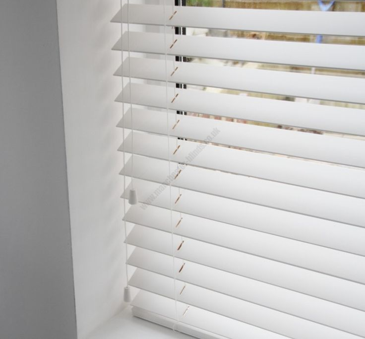 images white timber venetian blinds - Google Search