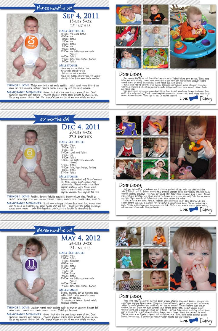 Great idea for a monthly baby book to capture all the memories...  www.who-arted.com