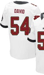 ... 78.00 lavonte david white elite jersey nike stitched tampa bay  buccaneers 54 719491f20