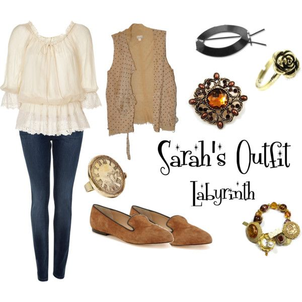 Sarah's Labyrinth Outfit ... Halloween? Like 2.5 people would figure that out, but may be worth a try this year!