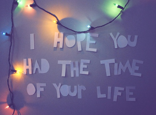 Good Riddance (Time of Your Life) ~ Green Day