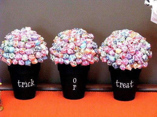 Halloween Lollipop Trees She Brandy So Cute Trees And