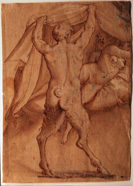 Bronzino, Venus, Satyr, and Cupid