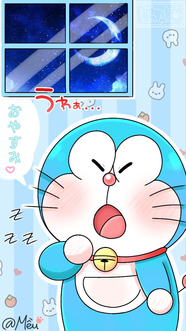 Doraemon 上的釘圖