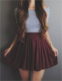 50 süße Sommer-Outfit-Ideen für Teenager-Mädchen #ideas #outfits #summer #teenage