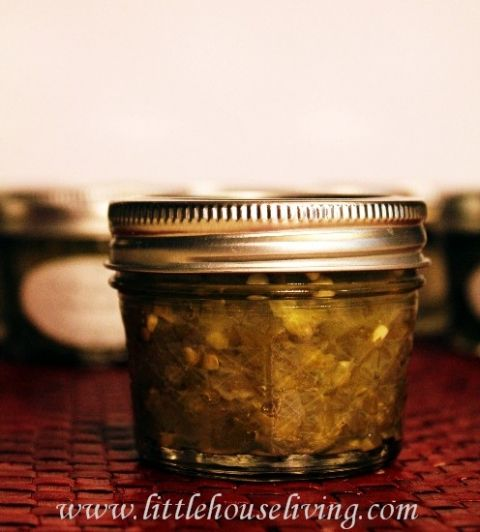 Jalapeno Relish - Little House Living