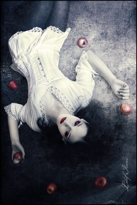 2. fantasy Snow White and the Red Apples. Fantasy/Fairytale Photography.