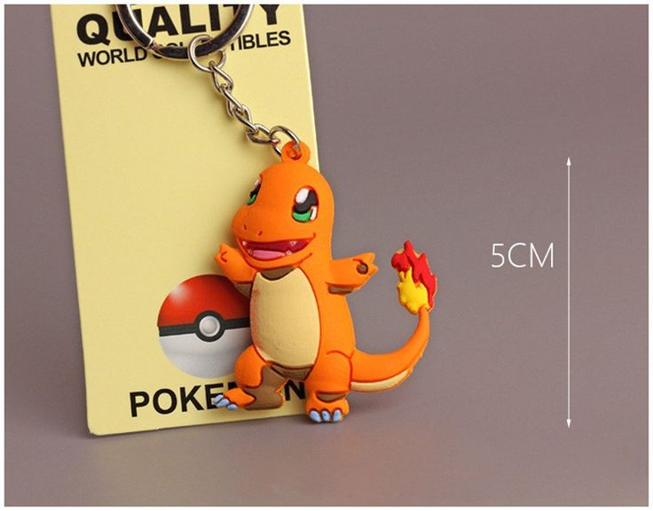 Chaveiros Pokemon Go (figuras miniaturas em Silicone) ***Limitado a 3 – FMK Importações