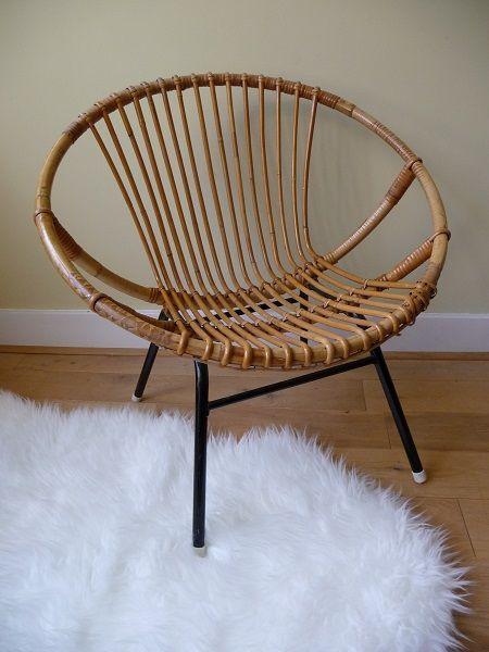 Van oude dingen » rotan fauteuil
