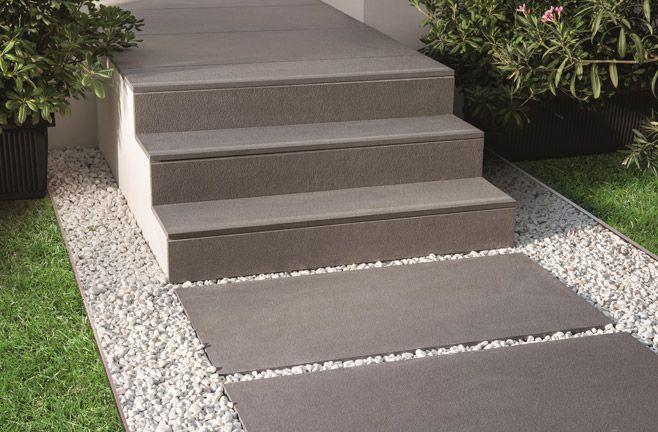 met betonplaten of grootformaat tegels kan veel meer dan