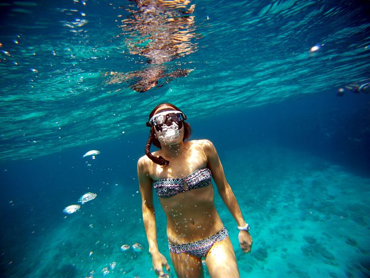 Enjoy the beauty under the water in Colombia