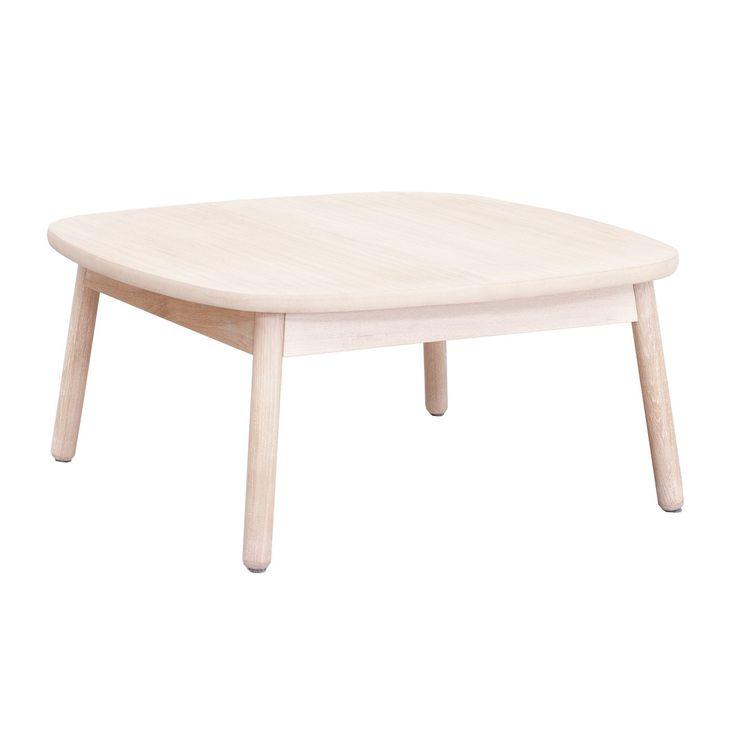 Native sofabord 85, hvitlasert eik i gruppen Møbler / Bord / Sofabord hos ROOM21.no (1023685)