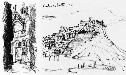 cuaderno de viaje de Alvar Aalto
