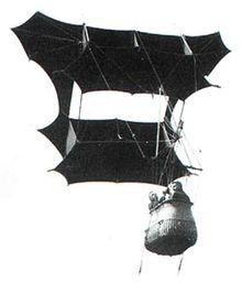 Cody's Mankite beim Einsatz als manlifter  Drachen – Wikipedia