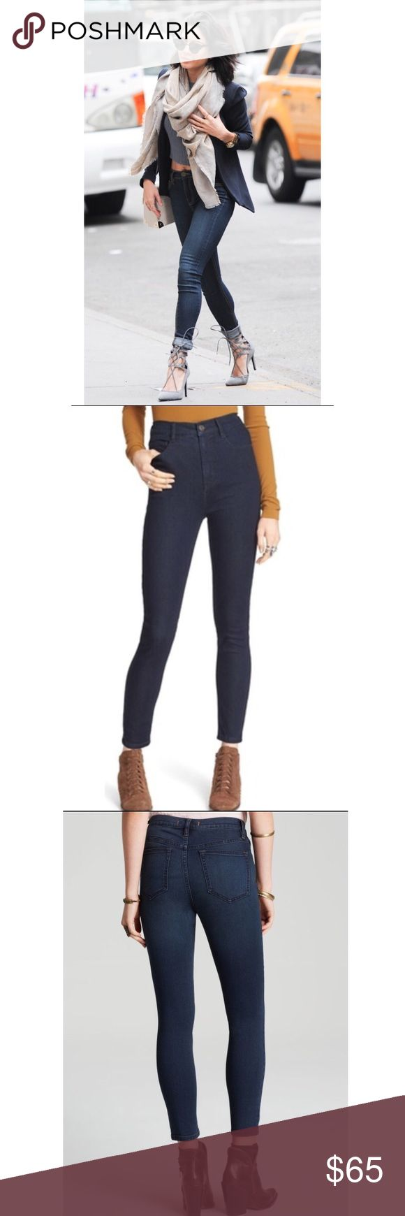 "Free People Skinny Jeans seen on Vanessa Hudgens Sexy Free People skinny denims jeans as seen on Vanessa Hudges! Size 28"" waist size Free People Jeans Skinny"