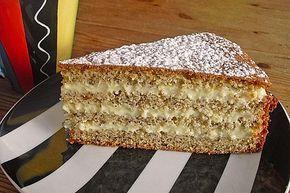 Nuss – Vanille – Kuchen 3   – kuchen und torten