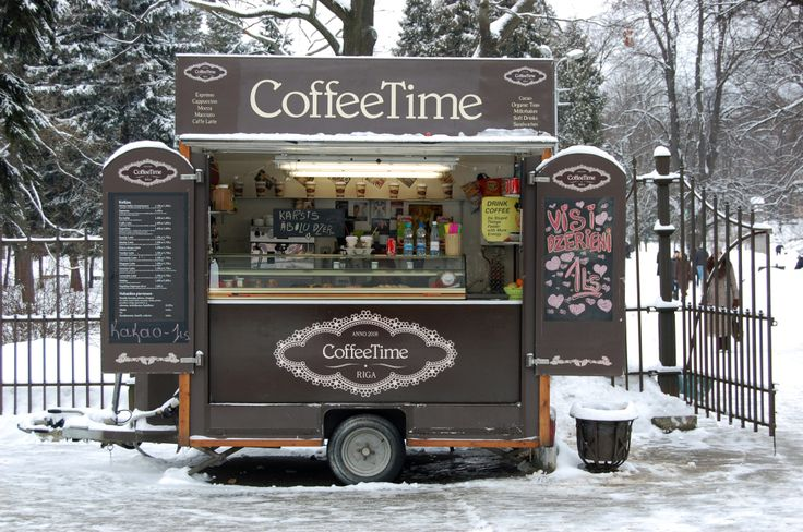 Coffe place in a park, Riga.