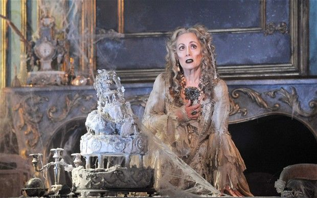 Paula Wilcox in Great Expectations at the Vaudeville Theatre