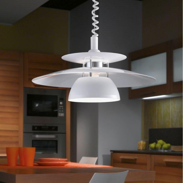 Pendelleuchte höhenverstellbar Reflektor Lampe Leuchte Pendel Hängelampe Neu in Möbel & Wohnen, Beleuchtung, Deckenlampen & Kronleuchter | eBay