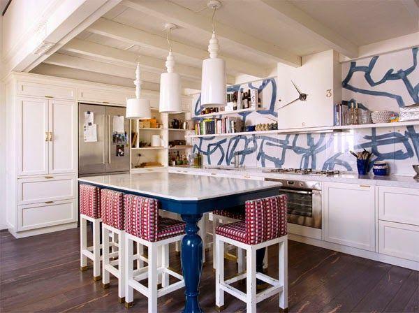 17 mejores ideas sobre cocinas de color azul oscuro en pinterest ...