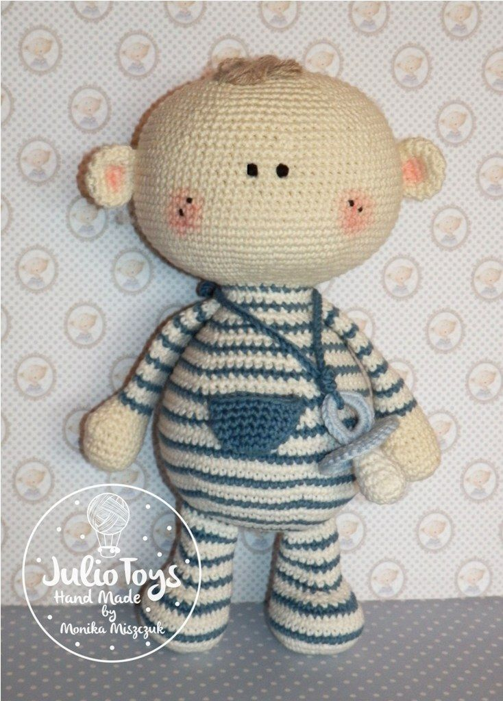 crochet baby boy by Julio Toys