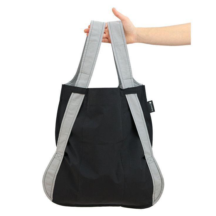 Notabag – Grey/Black