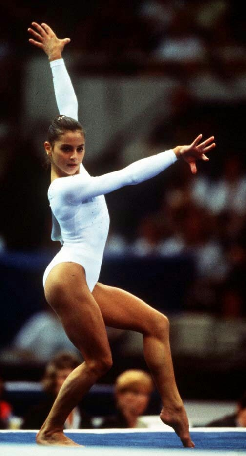 28 best images about dominique moceanu on pinterest see for Floor gymnastics