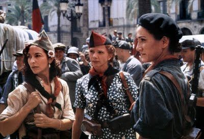 Libertarias is a Spanish historical drama made in 1996. It was written and directed by Vicente Aranda.    In 1936, Maria (Ariadna Gil), a young nun is recruited by Pilar (Ana Belén), a militant feminist, into an anarchist militia following the onset of the Spanish Civil War. Guided by the older woman, Maria is exposed to the realities of war and revolution, and comes to question her former, sheltered life.