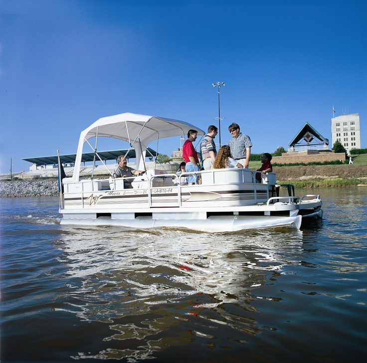 17 best images about pontoon boat manufacturers on for Best river fishing boat