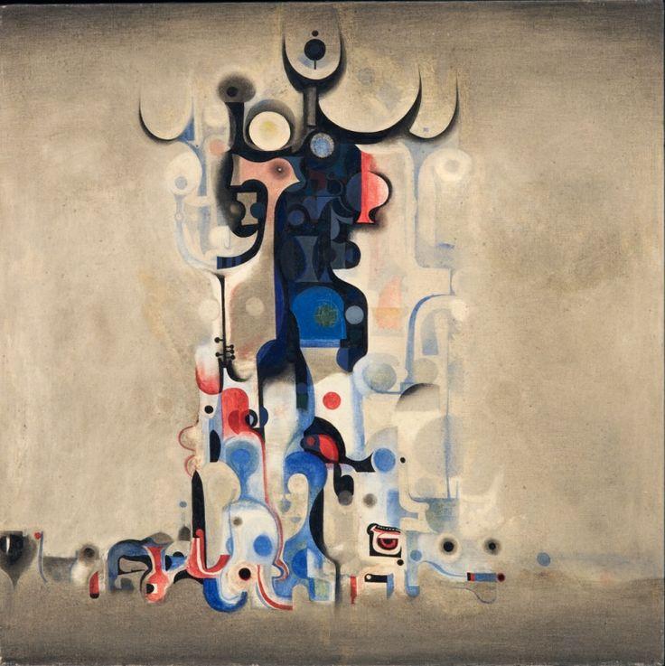 Ibrahim El-Salahi - Vision of the Tomb, 1965