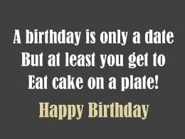 Silly and short birthday poem