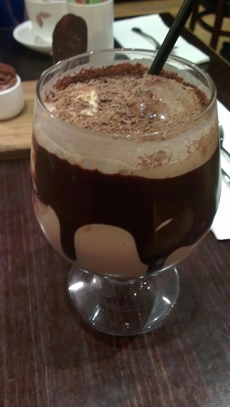 Ice chocolate at koko black