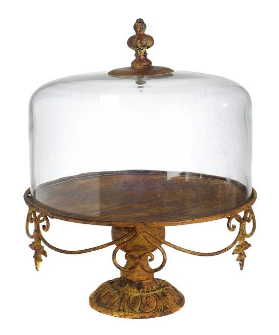 Cake Stand And Dome