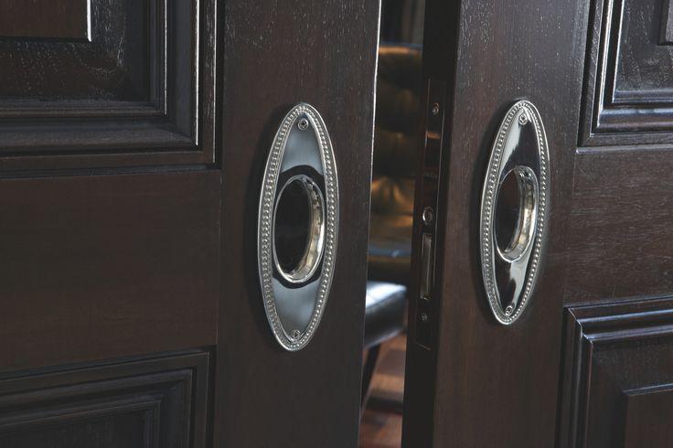 Decorative hardware for pocket doors!