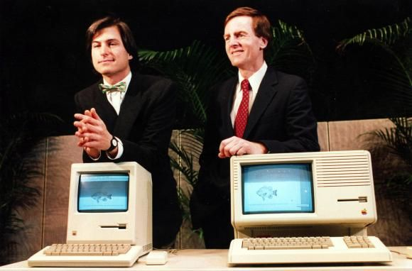 John Sculley was the Pepsi guy before he joined Apple. He became CEO, and at first he and Steve Jobs had an awesome working relationship. That ended when Apple booted Steve from his own company.