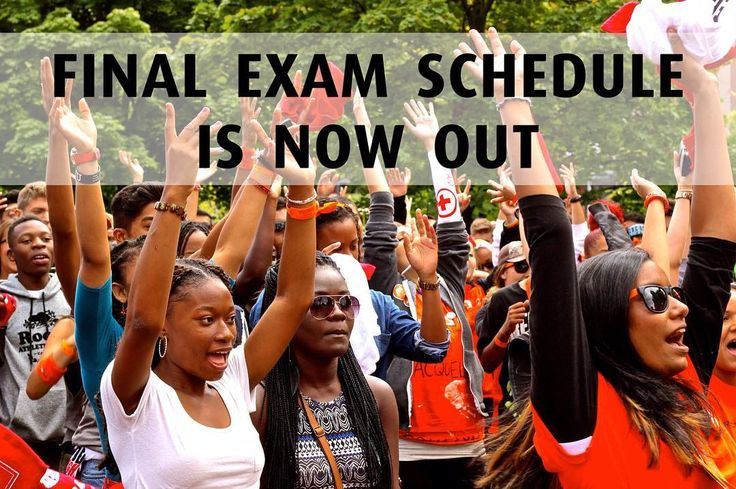 """Only few more weeks of classes before the semester wraps up! Check out your final exam schedule: registrar.yorku.ca/exams and click """"Plot Your Timetable"""". #Exams #YorkU #YorkUStudents #StudentLife"""