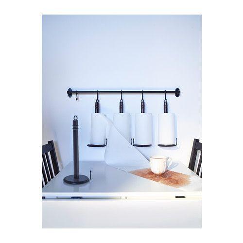 die besten 25 k chenrollenhalter wand ideen auf pinterest gew rzaufbewahrung h ngend topf. Black Bedroom Furniture Sets. Home Design Ideas
