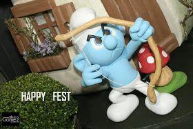 Para a festa de jorge Antonio no buffet Lolly Boom , a turminha escolhida foi Smurfs. uma festa com grande...