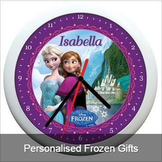 Personalised gifts for the little one who loves Frozen!