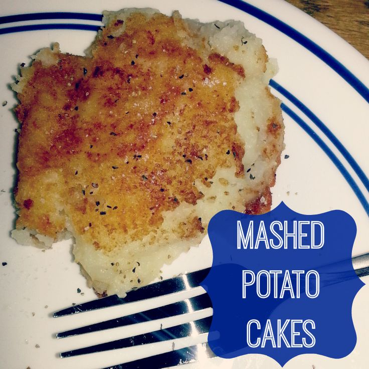 Recipe: Mashed Potato Cakes - Pluckys Second Thought Potatoes Cake ...