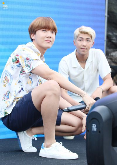 J-Hope and Rap Monster. <3