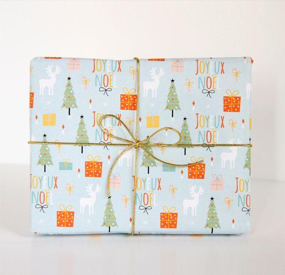 free printable christmas wrapping paper.