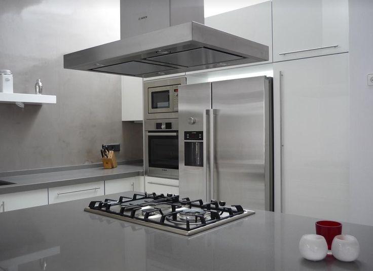 Silestone gris expo kitchen kitchens pinterest for Silestone gris marengo