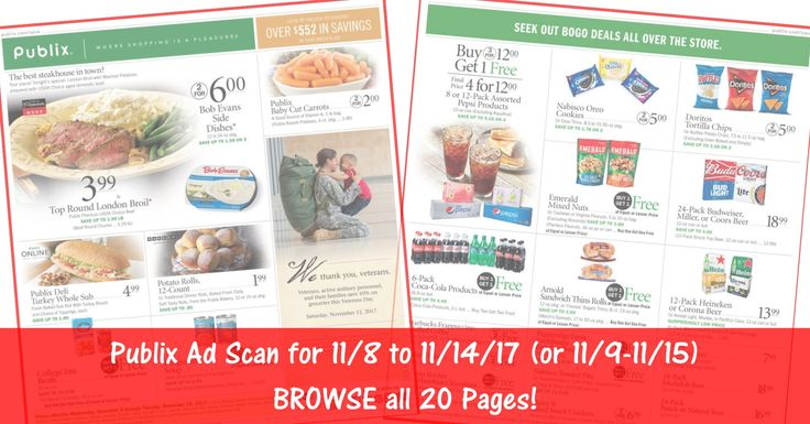 READY to BROWSE the actual upcoming Publix Weekly Ad Scan? Here is the Publix Weekly Ad Scan for 11/8/17 - 11/14/17 (11/9-11/15 for Some)! Click the Picture below to BROWSE all 20 Pages ►  http://www.thecouponingcouple.com/publix-weekly-ad-scan-11-8-17/  #earlyad #PublixAd #PulbixAdPreview #PublixDeals  Visit us at http://www.thecouponingcouple.com for more great posts!