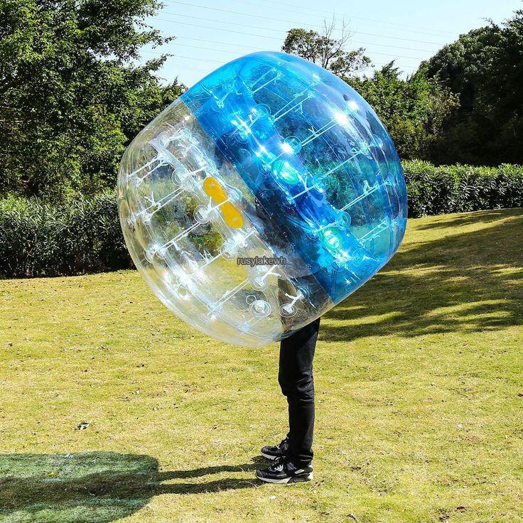 Outdoor Inflatable Human Knocker Bumper Ball Bubble Soccer Sport Adult 1.5M