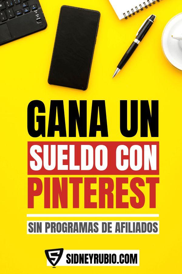 ✅ GANA un sueldo con PINTEREST sin programas de afiliados 💥 Crea un negocio online rentable